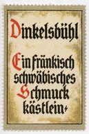 CINDERELLA : GERMANY - DINKELSBUHL - Cinderellas