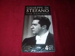 GIUSEPPE DI STEFANO   THE PORTRAIT  BOX 4 CD  NEUF SOUS CELOPHANE - Classical