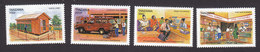 Tanzania, Scott #1779-1782, Mint Hinged, Tanzanian Posts Corp, Issued 1999 - Tanzania (1964-...)