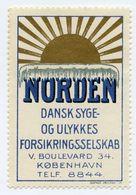 CINDERELLA : DENMARK - KOBENHAVN - NORDEN - Cinderellas