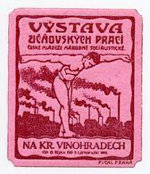 CINDERELLA : CZECHOSLOVAKIA - PRAHA - VYSTAVA VINOHRADECH - Cinderellas
