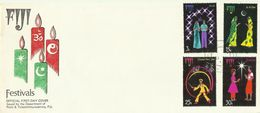 Fiji 1973 Festival Of Joy,First Day Cover - Fiji (1970-...)