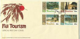 Fiji 1980 Tourism,First Day Cover - Fiji (1970-...)