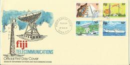 Fiji 1981 Telecommunications ,First Day Cover - Fiji (1970-...)