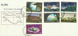 Pitcairn Islands SG 94-104 1969 Definitives Set 2 First Day Cover - Stamps