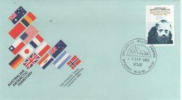 Australian Antarctic Territory 1983 12th Antarctic Treaty FDC - FDC