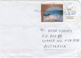 Italy 2002 Patrimonio Mondiale Isole Ionie On Cover Sent To Australia - 2001-10: Used