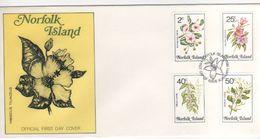 Norfolk Island 1984 Flowers Dated 10 Jan 1984 FDC - Norfolk Island