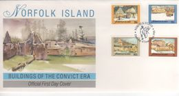 Norfolk Island 1988 Buildings Of The Convict Era,FDC - Norfolk Island