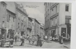 BELLAC - HOTEL-DE-VILLE - MAGNIFIQUE ANIMATION - VERS 1900 - Bellac
