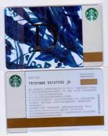 Starbucks China 2017 The English Alphabet Gift Card RMB100 D Word - Chine