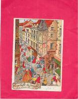 ILLUSTRATEUR   - CPA  COLORISEE -  La Rue Vieille Du Temple Sous Louis XVI - NANT2 - - Ilustradores & Fotógrafos