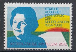 Nederlandse Antillem - 15 Jaar Statuut Voor Het Koninkrijk - Gezamenlijk Met Nederland En Suriname - MNH - NVPH 420 - Gezamelijke Uitgaven