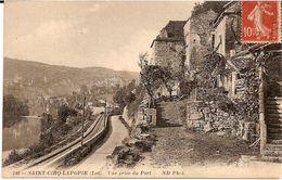 2G1  ---  46  ST CIRQ-LAPOPIE    Vue Prise Du Port - Saint-Cirq-Lapopie