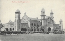 The Chief Court Punjab - Lahore (Pakistan) - Carte Non Circulée - Pakistan
