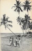 Sri Lanka (Ceylon, Ceylan) - The Sea Shore At Mount Lavinia - Raphaël Tuck & Sons, Colombo - Carte Non Circulée - Sri Lanka (Ceylon)