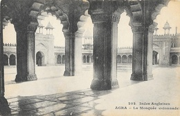Inde: Indes Anglaises, Agra, La Mosquée, Colonnade - Carte Non Circulée - Sri Lanka (Ceylon)