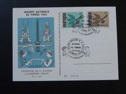 Carte Commemorative Expo Philatélique Jeunesse Berlin Journée Du Timbre Luxembourg 1965 (n°2916) - Tarjetas Conmemorativas