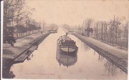 CPA  -  215. Agen - Canal Du Midi - Agen