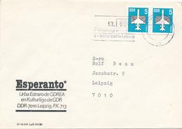 LEIPZIG - 1987 , Esperanto / Urba Estraro De GDREA /  En Kulturligo GDR - Esperanto