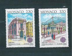 Monaco Timbres De 1990   N°1724/25  Neufs ** Parfait - Monaco