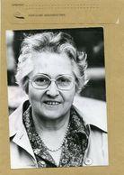 L'écrivaine Françoise  DOLTO - Personnes Identifiées