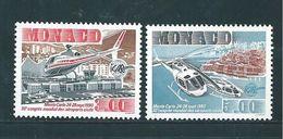 Monaco Timbres De 1990    Neufs**  N°1736/37 - Monaco