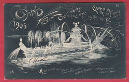 Gent / Gand 1905 - Fête Vénitienne - Apothéose De La Partie Flamande ... Artiste : Mr Jotthier - 10 ( Voir Verso ) - Gent