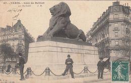 Cp , 75 , PARIS , Lion De Belfort, Par Bartholdi - France