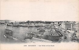 ¤¤   -  AUSTRALIE  -  SYDNEY  -  La Ville Et Le Port   -  ¤¤ - Sydney