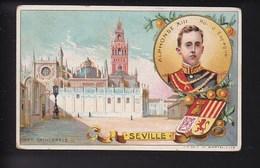 CHROMO CHICOREE PAUL MAIRESSE Seville - Trade Cards