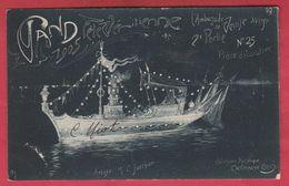 Gent / Gand 1905 - Fête Vénitienne - Pièce Décorative ... Artiste : Mr Jotthier - 19 ( Voir Verso ) - Gent