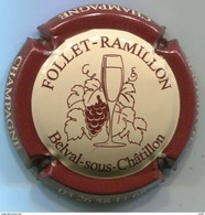 CAPSULE-CHAMPAGNE FOLLET-RAMILLON N°02 Grappe Fine - Champagnerdeckel