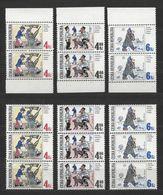 Tschechien MiNr. 153-5 Soldat Svejik Garnitur Aus Bogen U. MH Postfrisch. Zum Unterscheiden Von Marken Aus Markenheftche - Tschechische Republik