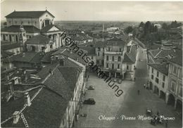 Oleggio - Piazza Martiri - Foto-AK Grossformat - Vera Fotografia Gel. 1954 - Other Cities