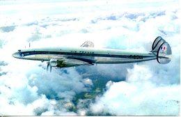"Carte Postale Neuve. Air France Lockheed ""Super Constellation"". - 1946-....: Moderne"