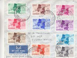 République Du Congo - Lettre De 1960 ° - Oblit Congo Belge - - Republik Kongo - Léopoldville (1960-64)