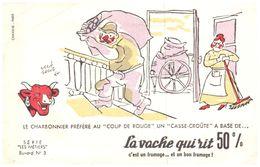 """Fr VR ) Buvard Fromage La Vache Qui Rit  Les Métiers Illustrateur """"RV Baille""""  (N= 3) - Dairy"""