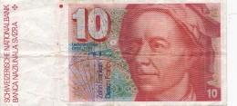 H31 - SUISSE - Billet De 10 Francs - Suisse