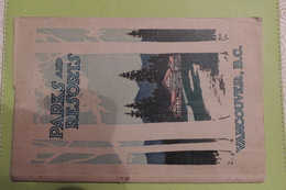 PARCKS AND RESORTS VANCOUVER / TRES NOMBREUSES PHOTOGRAPHIES ANNEE: VERS 1925-1935 - Cultural