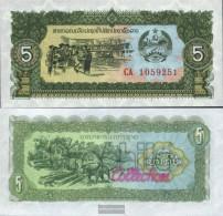 Laos Pick-number: 26r Uncirculated 1979 5 Kip - Laos