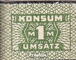 DDR Konsummarke Bankfrisch 1 Mark - [ 6] 1949-1990 : GDR - German Dem. Rep.