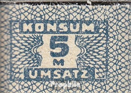 DDR Konsummarke Bankfrisch 5 Mark - [ 6] 1949-1990 : GDR - German Dem. Rep.