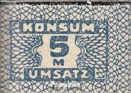 DDR Konsummarke Bankfrisch 5 Mark - Other