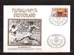 World Cup-1974, Cover( Cancel-final), Football, Soccer, Fussball,calcio - Coppa Del Mondo