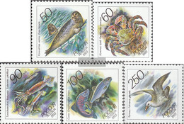 Russland 323-327 (complete Issue) Unmounted Mint / Never Hinged 1993 Flora Of Russian Pacific - Lithuania