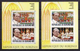 Burundi 1969 Blok Nr 32/32a **, Zeer Mooi Lot K630 - 1962-69: Neufs