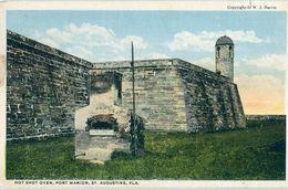 USA / Etats Unis - Floride - St Augustine : Hot Shot Oven, Fort Marion - St Augustine