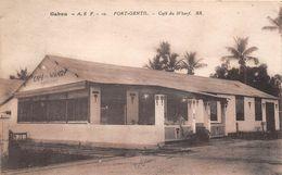 ¤¤  -  GABON   -   PORT-GENTIL   -  Café Du Wharf    -  ¤¤ - Gabon