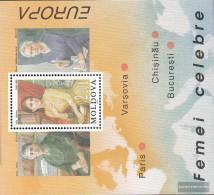 Moldawien Block9 (complete Issue) Unmounted Mint / Never Hinged 1996 Women - Moldova